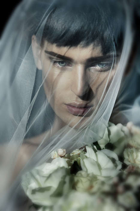 Androgynously Veiled Editorials