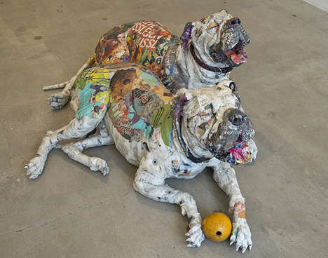 This Art Installation by Will Kurtz Features Creative Dog Displays