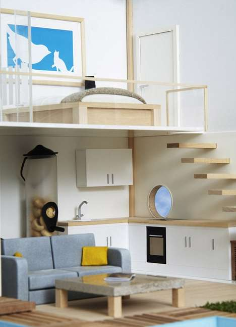 Modernly Equipped Avian Abodes