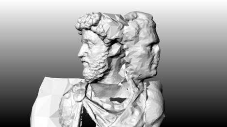 Remixed Emperor Sculptures