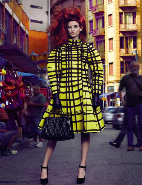 Couture Exuberance Editorials