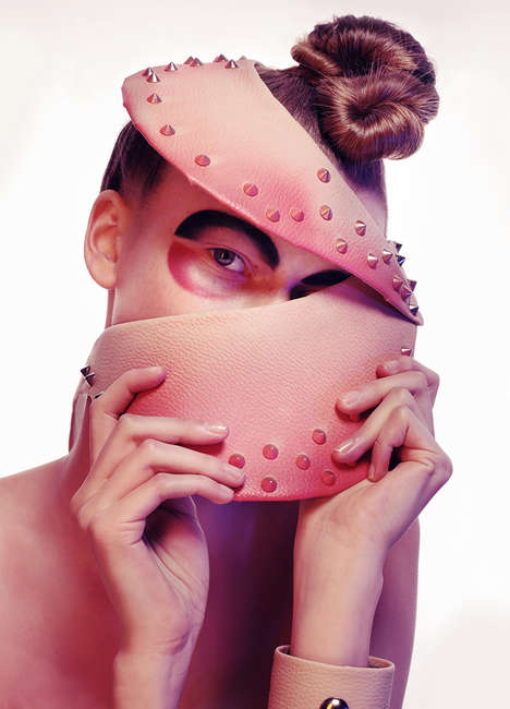 Alien Accessory Editorials - The TWINS Design Scene Exclusive Displays Unconventional Headpieces