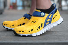 Recyclable Barefoot Trainers - Crosskix Put a Strong Focus on Function, Fitness and Comfort