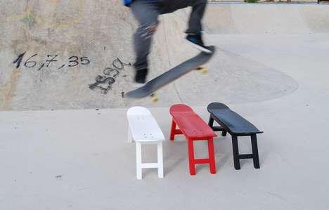 Sophisticated Skateboard Seating