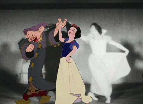 Real-Life Vintage Cartoon Counterparts