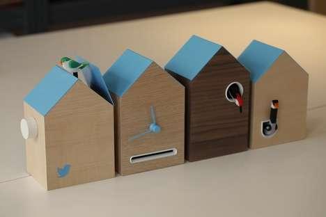 Tweet-Powered Cuckoo Clock