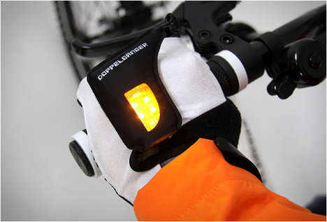 Nocturnal Light-Alerting Gloves
