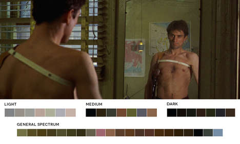 Color Film Pallet Blogs - Movies in Color Blog Features Basic Color Pallets of Famous Movie Stills