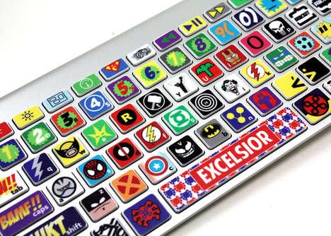 Superhero Laptop Stickers