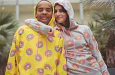 Pastry Patterned Sweatshirts - The Donut Hoodie Design From ODD Future is Deliciously Devious