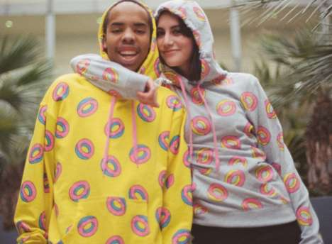 Pastry Patterned Sweatshirts