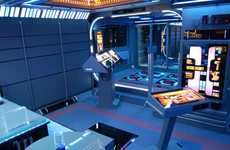Enterprising Sci-Fi Man Caves - This Star Trek Room Boldly Goes Where No Apartment Has Gone Before