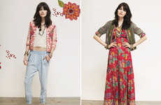 Embroidered Bohemian Fashion Styles