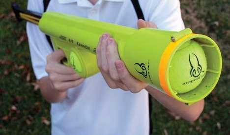 Ball-Blasting Canine Guns
