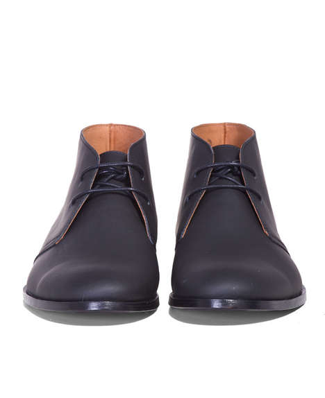 Minimalist Matte Boots
