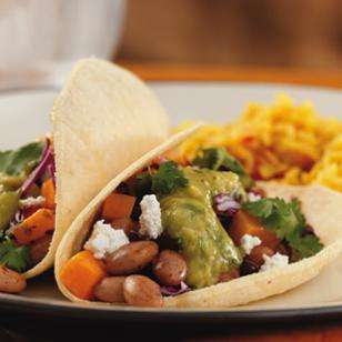 DIY Meatless Mexican Meals - This Bean and Butternut Burrito is a Savory Salsa Dish