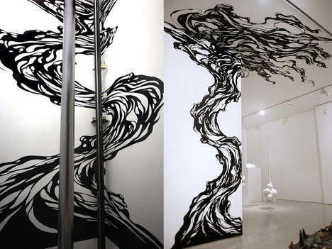 Astounding Adhesive Murals