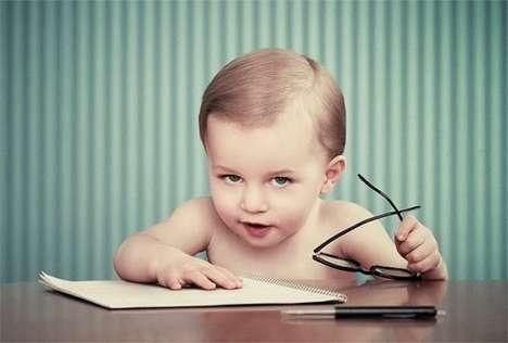 Mature Infant Photography