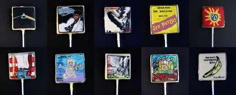 Iconic Album Cover Cakes