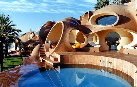 Shell Inspired Beach Homes