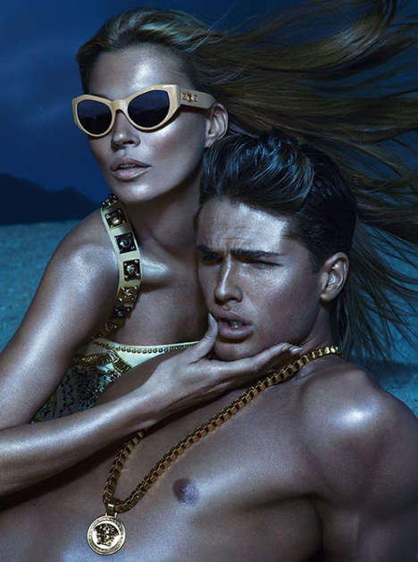 The Versace Spring Summer 2013 Ads Feature Three Supermodels