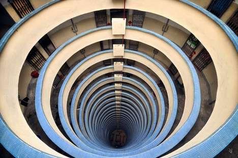 Skyscraper Vortex Photography