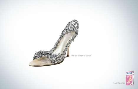 Painful Shoe Aid Ads