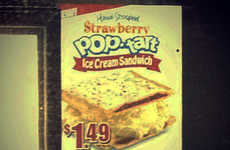 Frozen Breakfast Pastry Sandwiches - Carl's Jr. Pop-Tart Ice Cream Sandwich is a Sugar Explosion