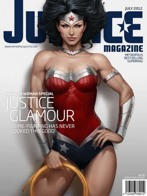 Super Vixen Magazine Covers