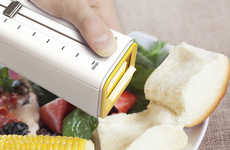 Spread-Rationing Contraptions - The Butter Boss Dispenses Measured Proportions for Healthier Meals