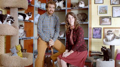 Cat Aerobic Commercials