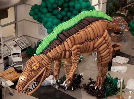 Inflatable Dinosaur Exhibits