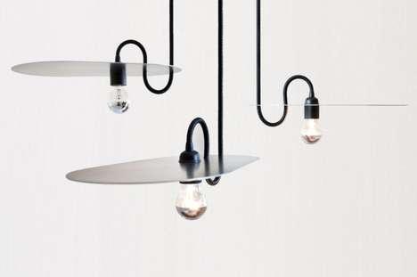 Horizontal Lampshade Lighting