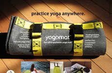 Foldable Eco Mats - The YogoMat is Cleverly Compact and Will Fit Inside Any Bag