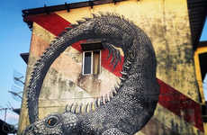 Animalistic Street Art