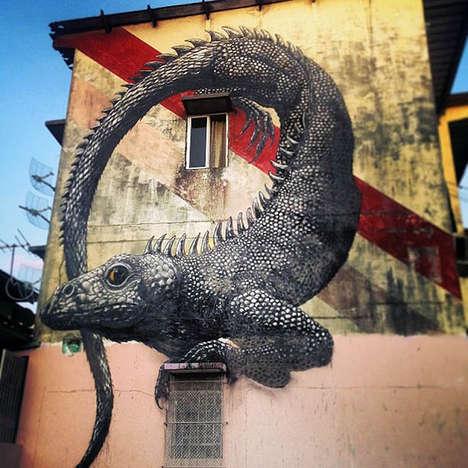 Animalistic Street Art