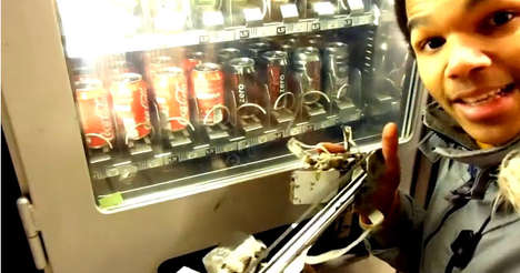 Robotic Vending Machine Thieves
