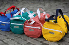 Vibrantly Durable Duffles - The Hudson Sutler Bags are Tough and Perfect for On-the-Go