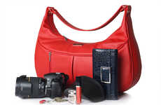 Stylish Feminine Camera Bags - POMPIDOO's Female Equipment Bags are Stylish Work Accesories
