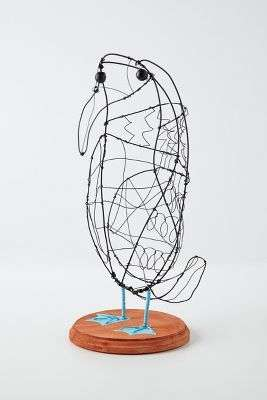 Whimsical Wire Avian Sculptures