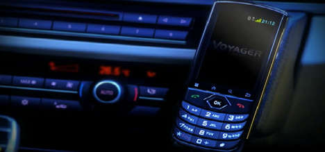 Car-Only Smartphones - Voyager is an In-Car Smartphone Designed for Use While Driving