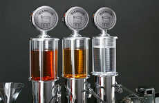 Gas Pump Liquor Dispensers - Your Guests Will Never Go on Empty with These High Octane Servers