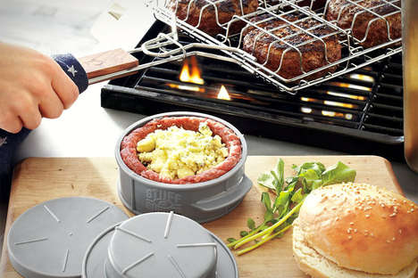 Gourmet Barbecue Tools - The Stuff-A-Burger Press by Sur La Table is Easy to Use
