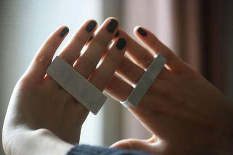 DIY Metal Finger Rings