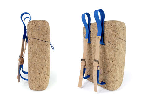 Cork Board Backpacks - INROU Preserves Food and is the Perfect Fashionable Picnic Accessory