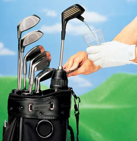 Drink-Disguising Golf Clubs - These Mock Drivers Will Keep You Refreshed When You Hit The Greens