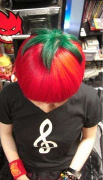 Veggie-Inspired Hairdos  - A Japanese Hair Salon Came up with This Chic 'Ripe Tomato' Look