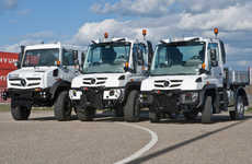 Compressed All-Terrain Vehicles - Mercedes Unimog 2013 is Bringing Comfort to Compact Truck Design