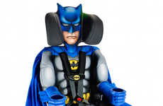 Comic Hero Toddler Seatings - The Batman Car Seat Will Provide Young Tikes with Some Added Security