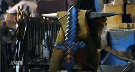 Replicated Gamer Swords